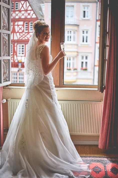 Real bride Katharina