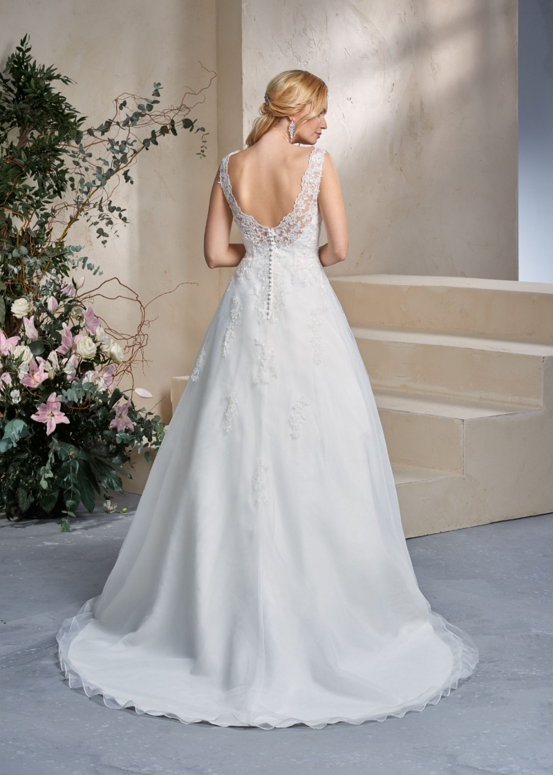 Weddingdress Affezione Apple - Back