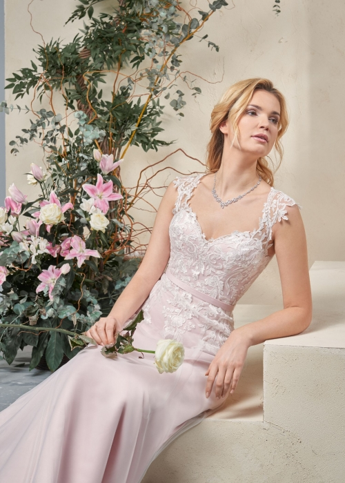 Weddingdress Affezione Bella Rosa - Closeup