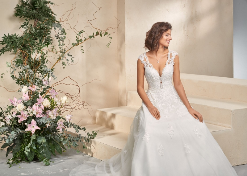 Weddingdress Affezione Blue - Landscape