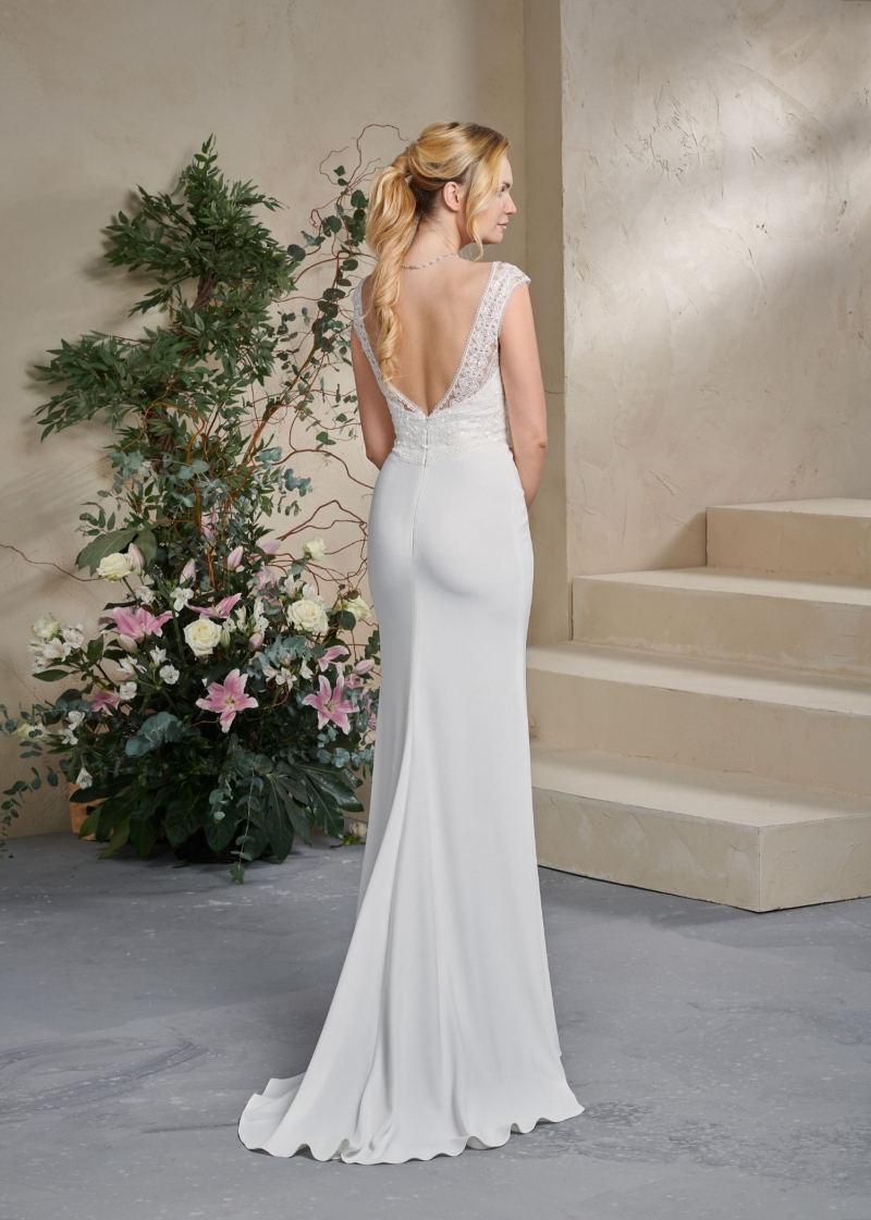 Weddingdress Affezione Bohdi - Back
