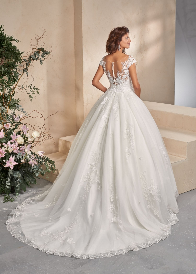 Weddingdress Affezione Chicago - Back