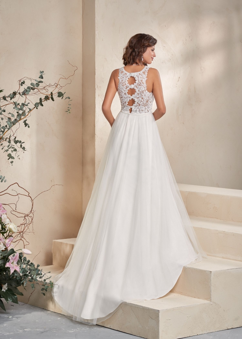 Weddingdress Affezione Clove - Back