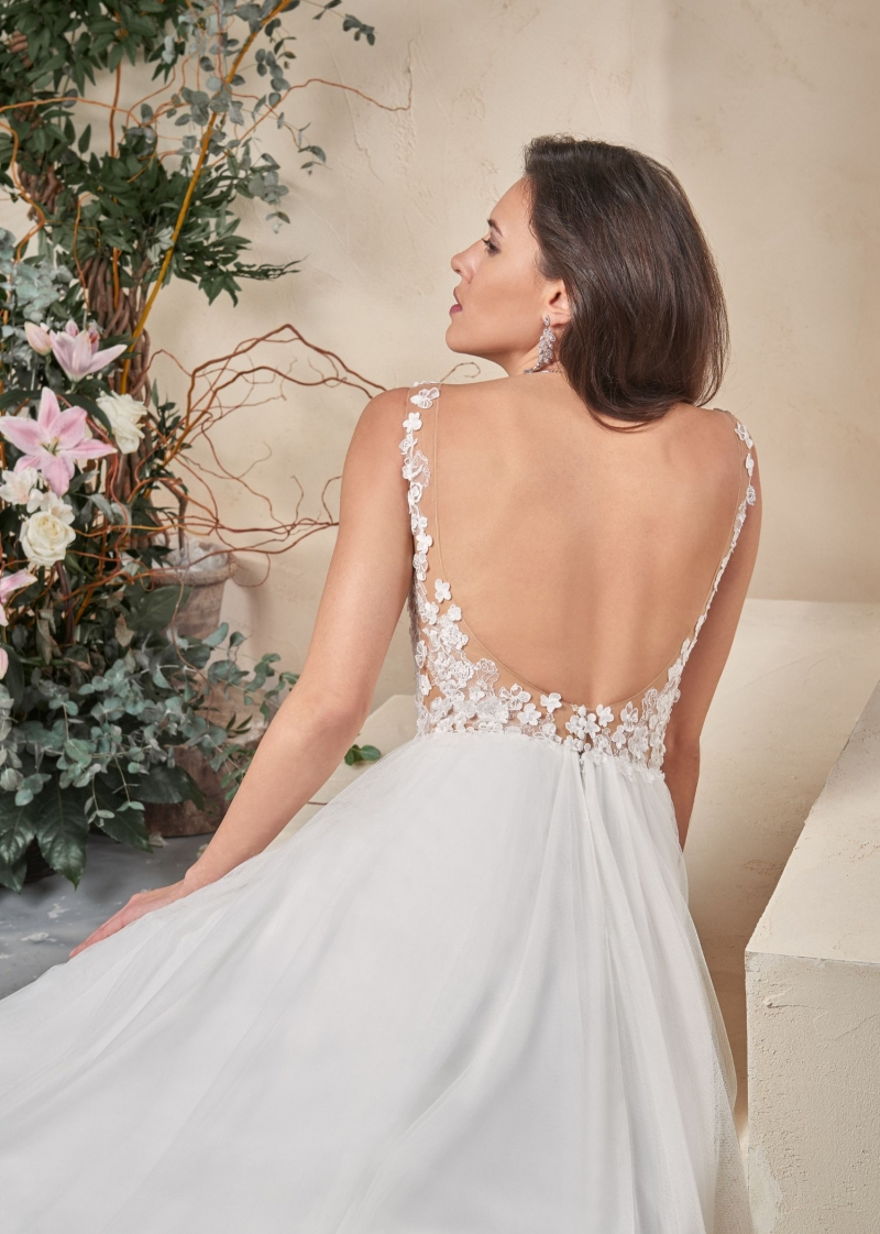 Weddingdress Affezione Cricket - Back