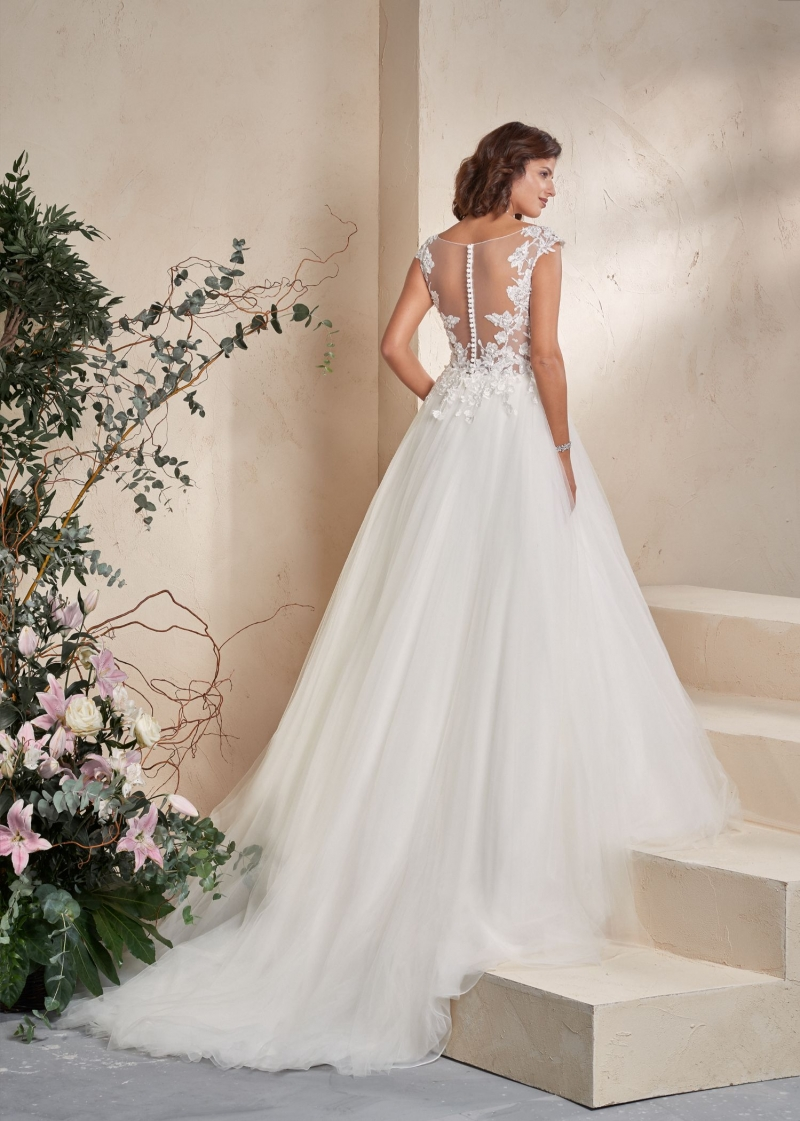 Weddingdress Affezione Dream - Back
