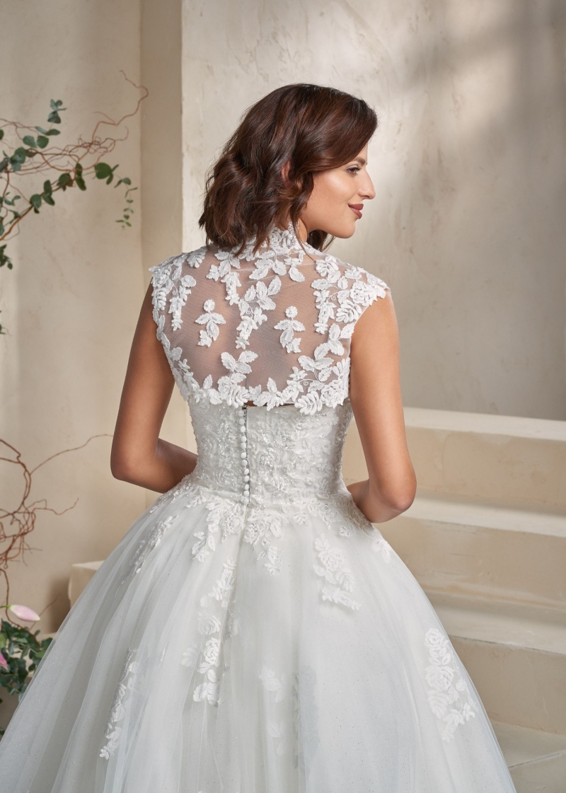 Weddingdress Affezione Fire - Back