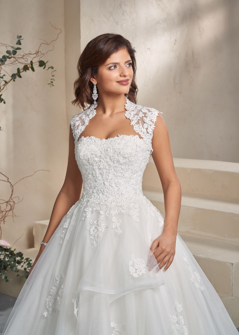 Weddingdress Affezione Fire - Closeup