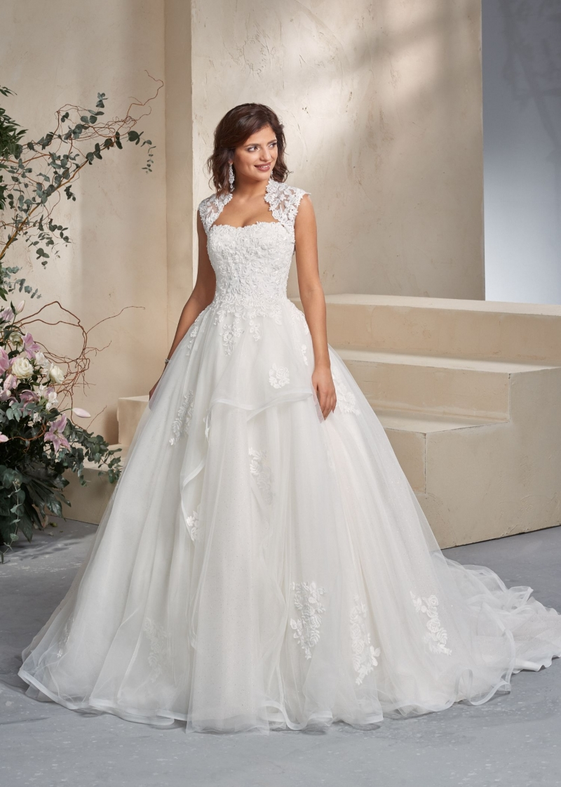 Weddingdress Affezione Fire - Front