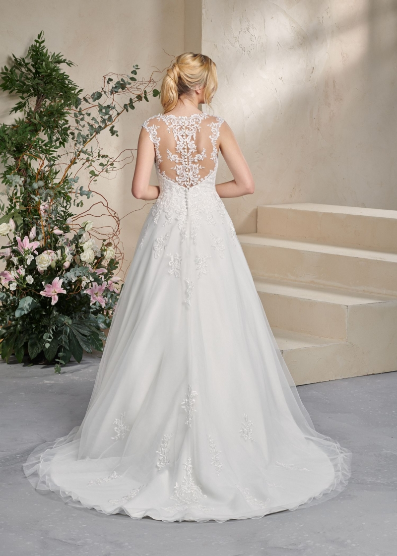 Weddingdress Affezione Hero - Back
