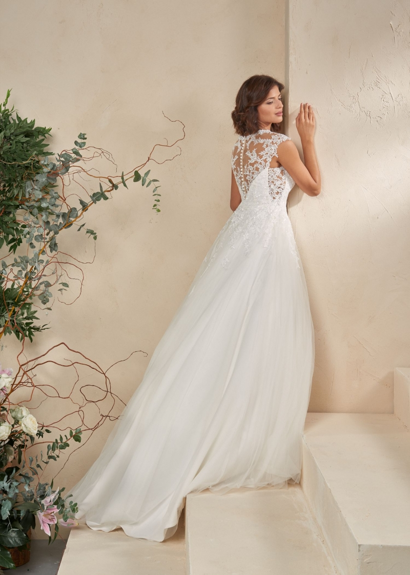 Weddingdress Affezione Indie - Back