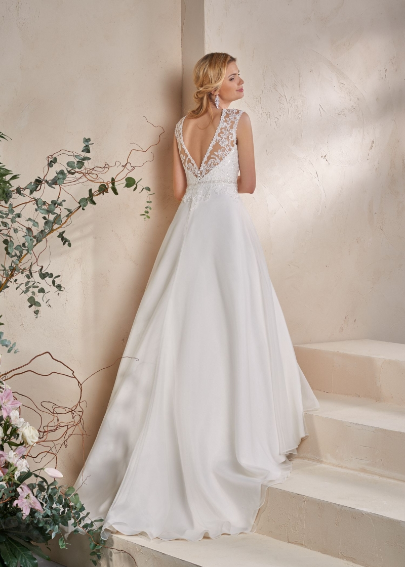 Weddingdress Affezione Journey - Back