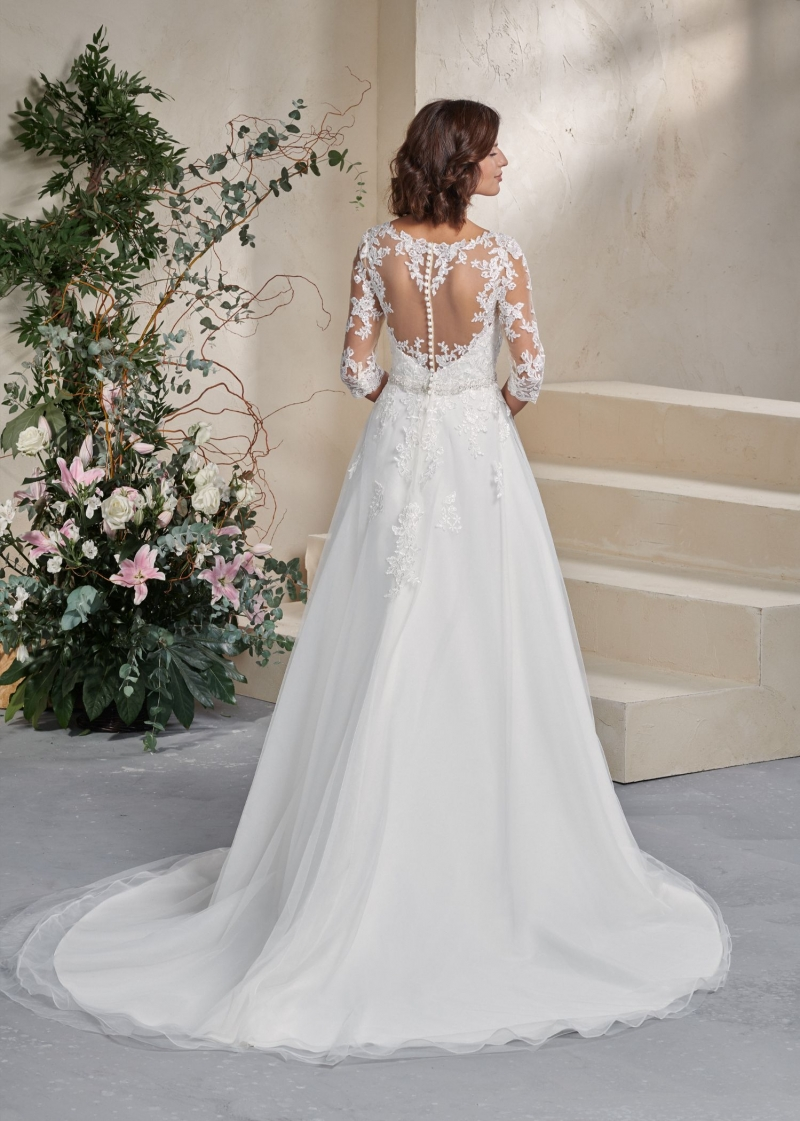 Weddingdress Affezione Justice - Back