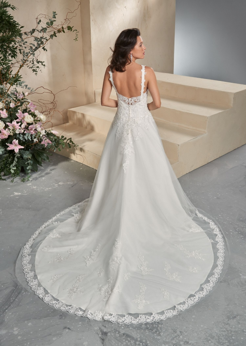 Weddingdress Affezione Lou - Back