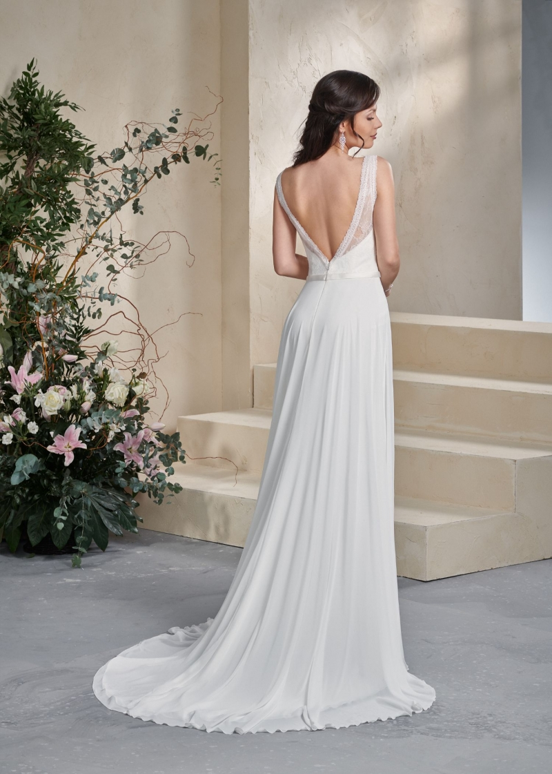 Weddingdress Affezione Mabel - Back