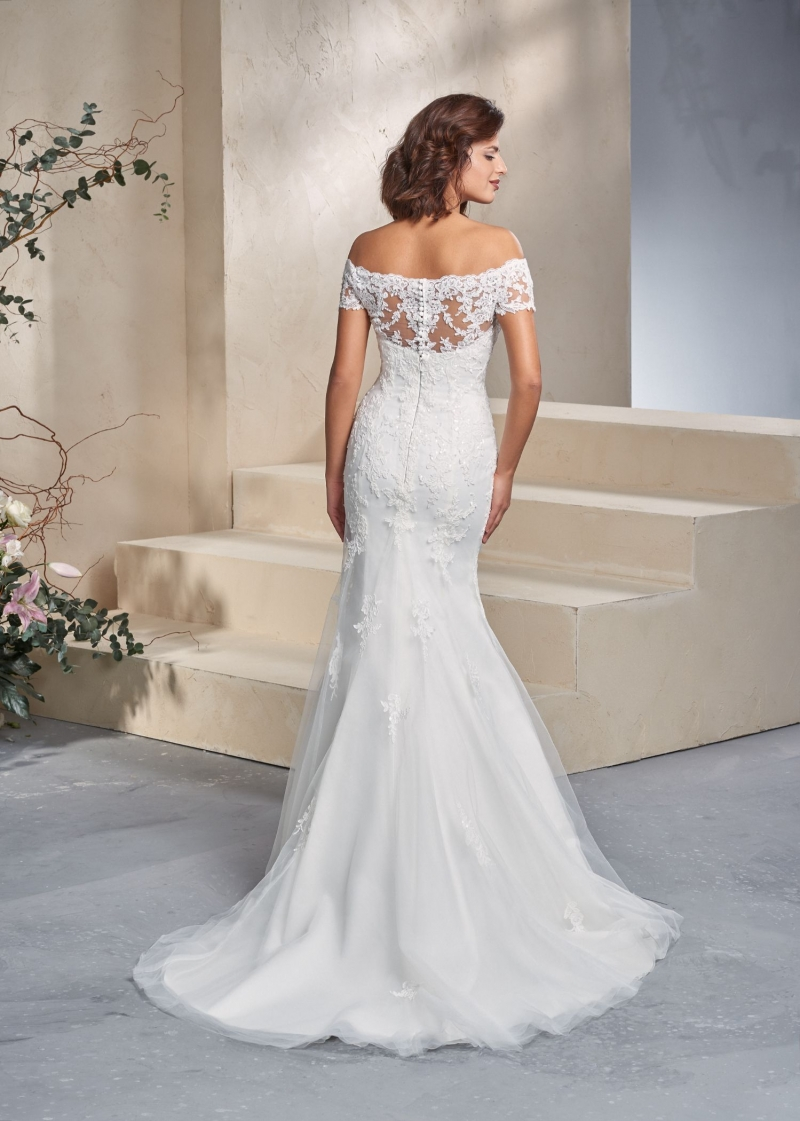 Weddingdress Affezione Marvel - Back