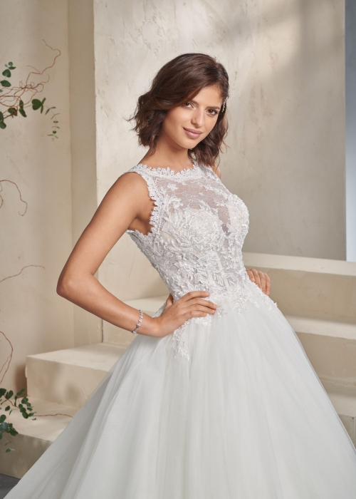Weddingdress Affezione Midnight - Closeup