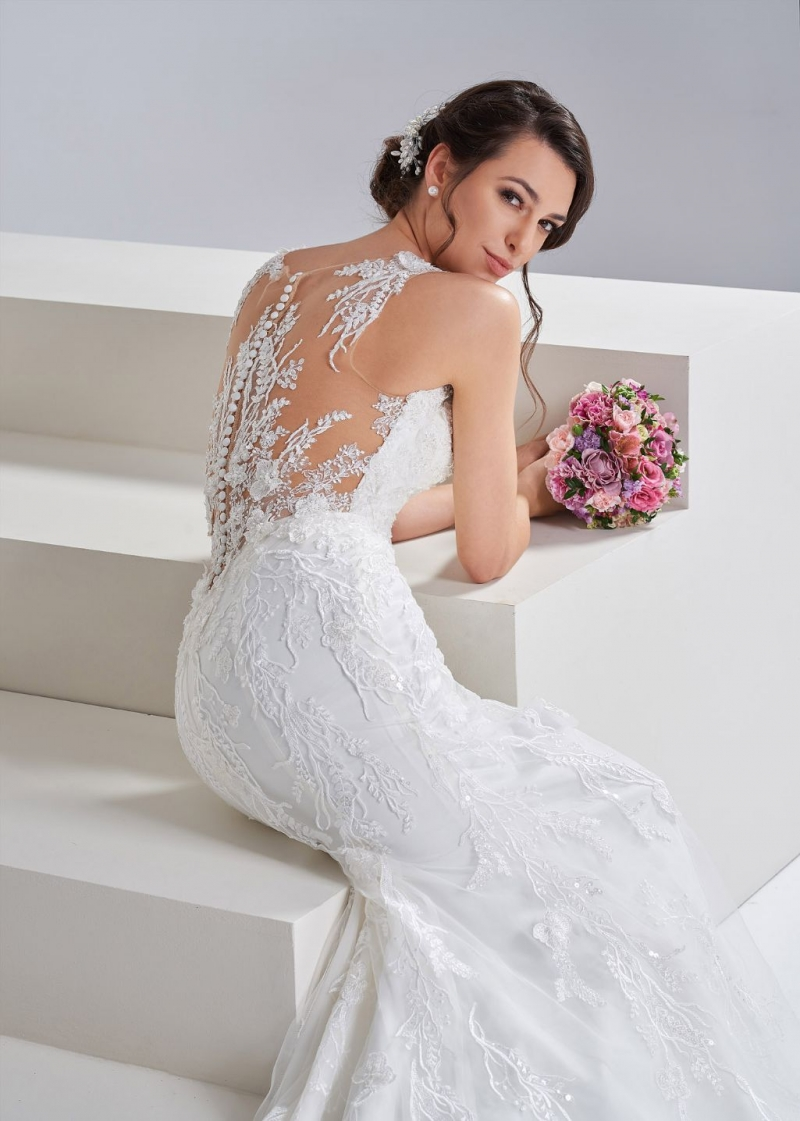 Weddingdress Affezione Noushin - Back