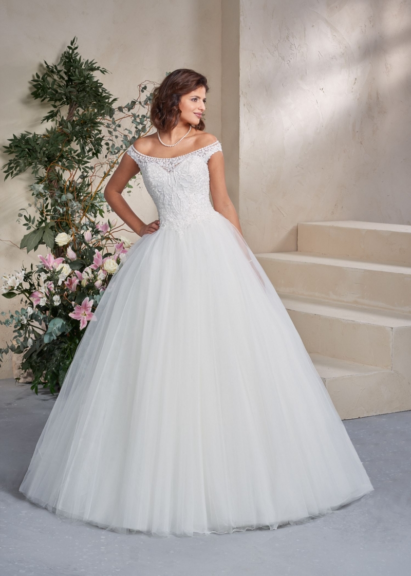 Weddingdress Affezione Pearl - Front