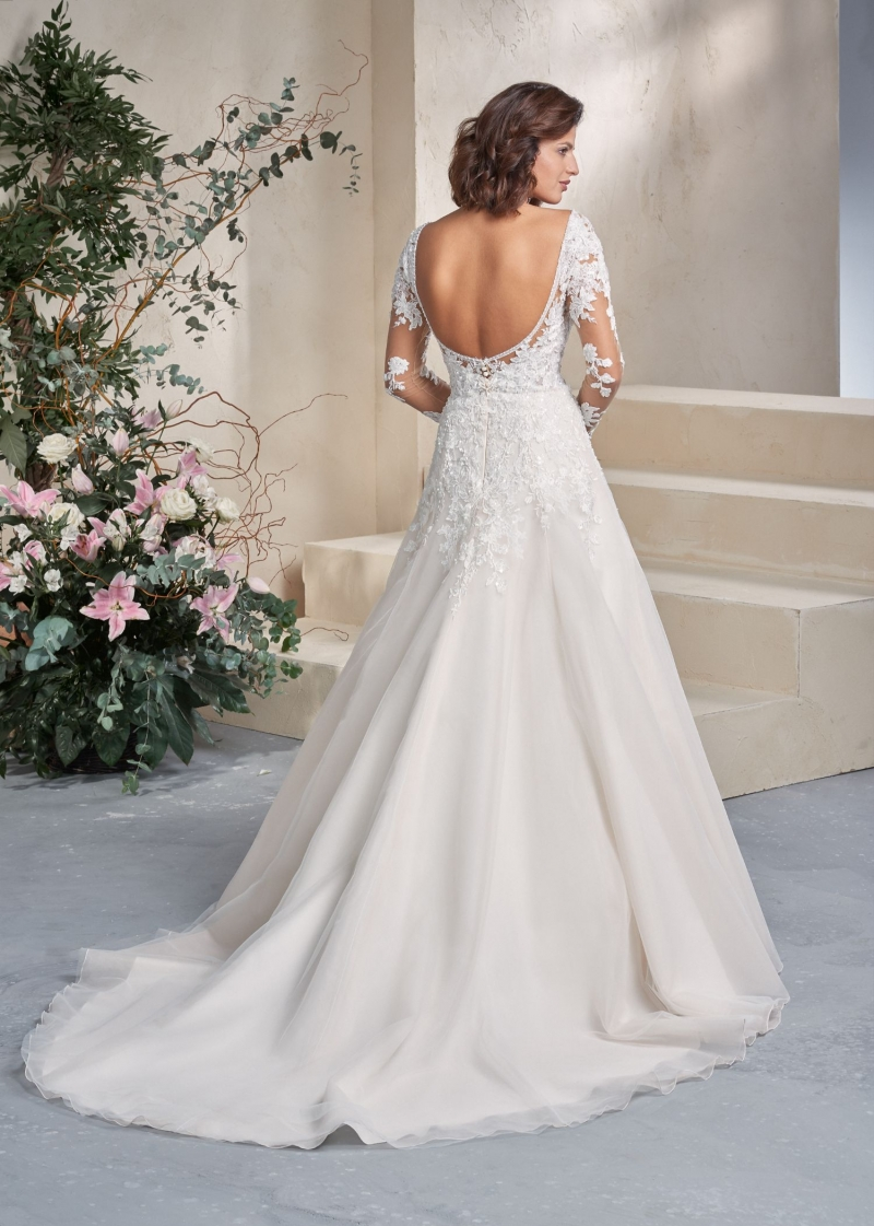 Weddingdress Affezione Rainbow - Back